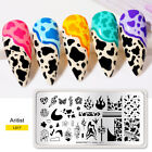 Nail Art Image Stamping Templates Manicure Stamp Plates Love Heart UR SUGAR DIY