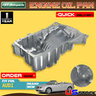 Brand New Engine Oil Pan Sump for Audi A4 A4 Quattro l4  02-06 Aluminum 264-725