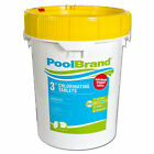 Pool Brand 50 lbs 3 Inch Swimming Pool Chlorine Tablets