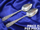 *1* KIRK REPOUSSE STERLING SILVER SERVING SPOON - VERY GOOD CONDITION