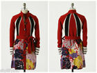Anthropologie Bright  Bold Sweatercoat by Sparrow 228 Sz L NWOT RARE