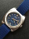 BWC All Steel Vintage Swiss Made Mens Diver Watch 37mm Automatic ETA 2783