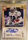 EMMITT SMITH DEMARCO MURRAY 2012 ELITE PASSING THE TORCH DUAL AUTO #5 20 COWBOYS
