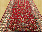 Perfect Condition Authentic Hand Knotted Kashaan Wool Area Rug 4.5x 2.4 (3201)