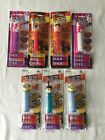 7 Incredibles/Despicable Me/Teddy Bears PEZ Candy Roll Dispensers-Feet.    #3380