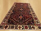 Hand Knotted Semi Antique Persian Bakhtiar Bakhtiari Wool Area Rug 10 x 5 Ft