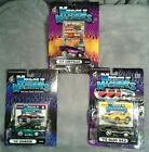 Muscle Machines 164 Scale Diecast Cars Lot of 3