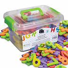 EduKid Toys 123 FOAM MAGNETIC LETTERS  NUMBER with Storage Canister NEW
