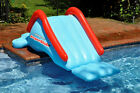 Swimline SuperSlide Inground Swimming Pool Giant Inflatable Water Slide For Kids