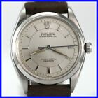 RARE VINTAGE ROLEX OYSTER PERPETUAL 6564 STAINLESS STEEL AUTOMATIC MENS WATCH