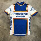Vintage Panasonic Raleigh Cycling Jersey Made In Italy Small