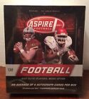 2008 SAGE ASPIRE FOOTBALL FACTORY SEALED HOBBY BOX 24 PACKS 6 AUTOS PER