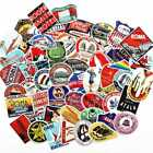 55 Retro Vintage Old Fashioned Style Luggage Suitcase Travel Stickers Gift CL