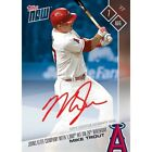 Mike Trout Topps Now - On-Card Autograph 39 49 - Mike Trout 1,000th Hit