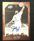2009-10 Upper Deck Greasts of the Game James Harden Auto Autograph