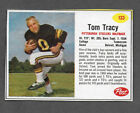 1962 Post Cereal #133 Tom Tracy Pittsburgh Steelers