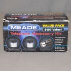 Meade Telescope Accessory Kit 3 lens Barlow 4mm  6mm Plossl