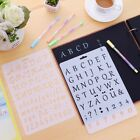 DIY Letter Number Stencil Template Drawing Scrapbooking Stamp Wall Paint Craft