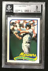1989 Topps Traded Tiffany Omar Vizquel BGS 9 (BB MO)