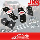 JKS Front  Rear Brake Line Relocation Brackets fits 2007 2018 Jeep Wrangler JK
