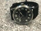 SWISS MADE JACQUES LEMANS MECHANIAL 1-1009 PILOT WRISTWATCH.