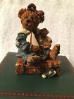 BOYDS Bearstone ~  Bailey Bear with Suitcase  ~ Style 2000