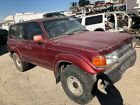1991 FJ80 LANDCRUISER WRECKED REBUILDABLE SALVAGE RUNNING for PARTS or REPAIR