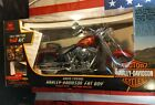 Harley Davidson Fat Boy New Bright Remote Control Motorcycle 96v Brand New