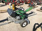2012 John Deere 220 Ecut Hybrid Walk Behind Greens Mower W/trailer