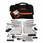 NEW Craftsman 165pc SAE/MM 1/4 3/8 1/2 Socket Wrench Mechanics Tool Set with Bag