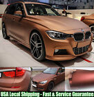 Entire Car Wrap - Fast Satin Matte Metal Metallic Chrome Vinyl Sticker Film Abus