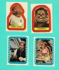1983 TOPPS RETURN OF THE JEDI SERIES TWO COMPLETE STICKER SET * 22 STICKERS *