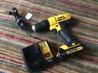 Dewalt 20 Volt Cordless Drill Driver Tool Bundle DCD771 WITH CHARGER DCB107 NICE