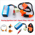High Performance Racing Ignition Coil+Spark Plug+AC CDI For GY6 50cc Scooter ATV