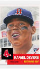 TOPPS BASEBALL LIVING SET ROOKIE CARD BOSTON RED SOX RAFAEL DEVERS 29