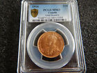 1914 $10 PCGS MS63 Canada Gold Ten Dollar Canadian Reserve MS 63