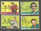 1968-69 OPC HOCKEY CARD LOT 46 jacques plant