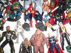 Mixed lot of 50 Action Figures Superheroes  More 0501