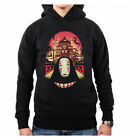 HOODIE HERREN WELCOME TO THE MAGICAL BATHHOUSE ANIME MOVIES SPIRITED AWAY VINCEN