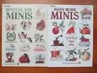 Special Day Minis and Many More Minis Cross Stitch Patterns