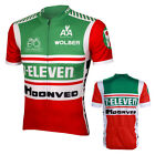 7 eleven Retro Cycling Jersey Bike Clothing Bicycle Cycle Apparel Ciclismo L