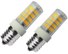 2pcs Microwave Oven Light Bulb LED Appliance 40W Halogen Bulb Equivalent Ceramic