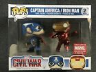 Marvel Collector Corps Exclusive Funko Pop Figure Captain America Iron Man