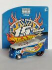 Hotwheels 2001 Convention Drag Bus Red Flame Variation