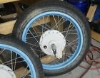 Honda CB350 cl sl front rear wheel rim hub axle 1973 74 72