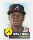 Lot of 20 2018 Topps Living Set Ronald Acuna Rookie Cards Never Opened