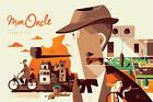 MON ONCLE JACQUES TATI TOM WHALEN limited edition print 150 24x36