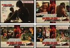 WEEKEND Italian fotobusta movie posters x4 JEAN LUC GODARD DARC YANNE 1967