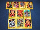 1993 ULTRAVERSE LOT OF 10 ROOKIE AND ULTIMATE ROOKIE INSERTS (E6)