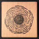 Rubber Stamp HOT BLISTERING SUN 1995 Stampa Barbara Wood Mounted